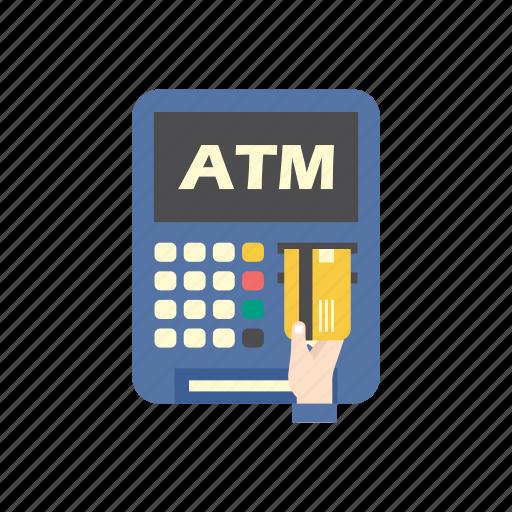 atm, bank, credit card, debit card, finance, machine, money icon