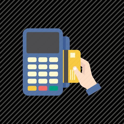 bank, credit card, finance, machine, money, pay, reader icon