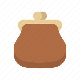 bank, cash, finance, money, purse, saving, storage icon