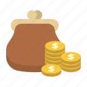 bank, dollar, finance, money, purse, saving, storage