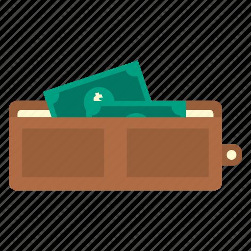 cash, dollar, finance, money, saving, storage, wallet icon