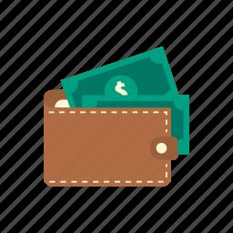 bank, cash, finance, money, saving, storage, wallet icon