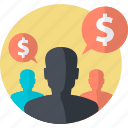 affiliate, business, earning, finance, marketing, money icon