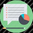customer, information, market, research, survey icon