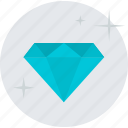 diamond, flat design, jewelry, pack, premium, services, vip icon