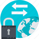banking, internet, money, safety, security, transfer icon
