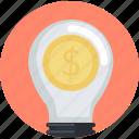 business, crowdfunding, idea, money, smart, solutions icon