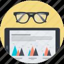 analysis, business, plan, report, round, statistics