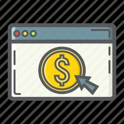 banking, business, dollar, e-commerce, finance, internet, online icon