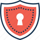 defence, protection, secure, security, shield icon