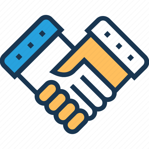 business, deal, partners, partnership, shake hand icon