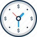 clock, time, time is money, timekeeper, timer icon