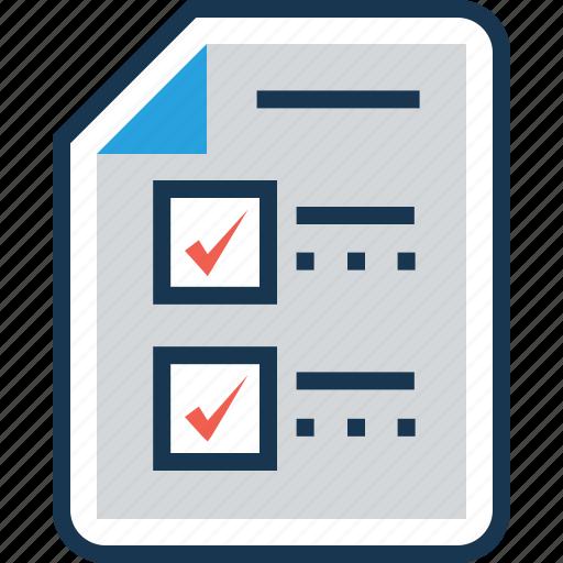 checklist shopping list task task sheet to do list icon