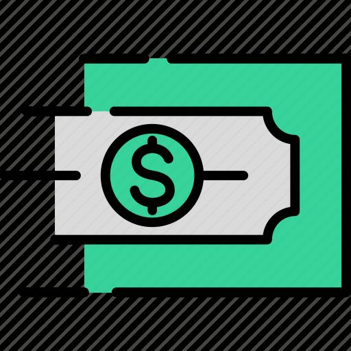 Bank, banking, cash, dollar, finance, money, transfer icon - Download on Iconfinder