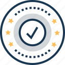 accepted, approved, best, best choice, tick icon