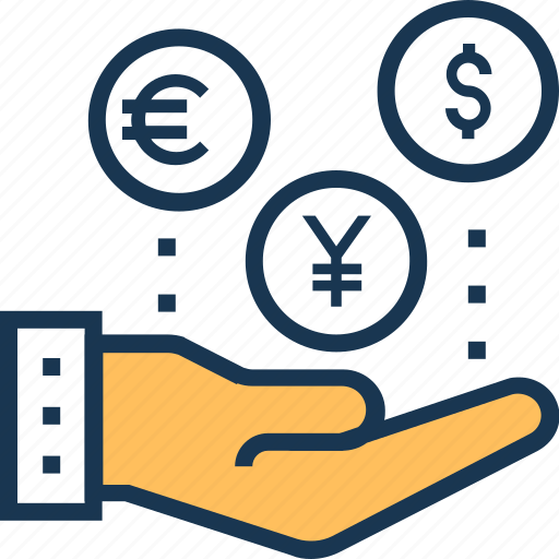 business, earning, investment, money, profit icon