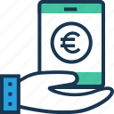 banking app, m banking, mcommerce, mobile, online banking icon
