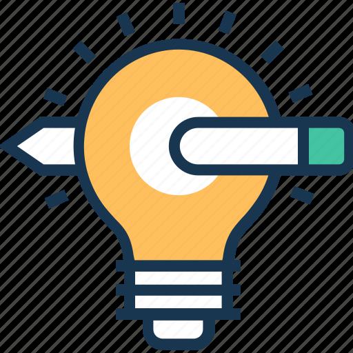 aim, bulb, define goal, idea, objective icon