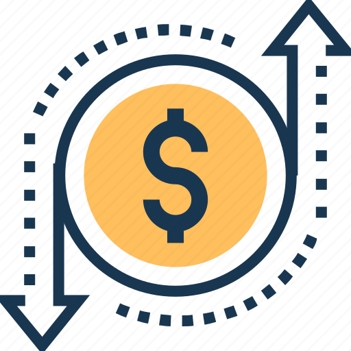 business, dollar, finance, financial, profit and loss icon