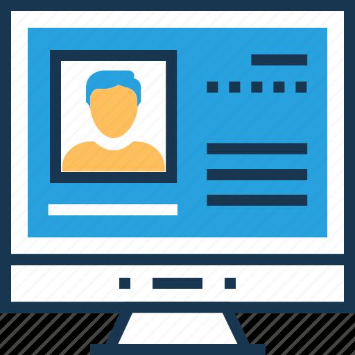 account, avatar, login, login screen, web login icon