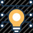 bulb, idea, innovation, smart solution, solution