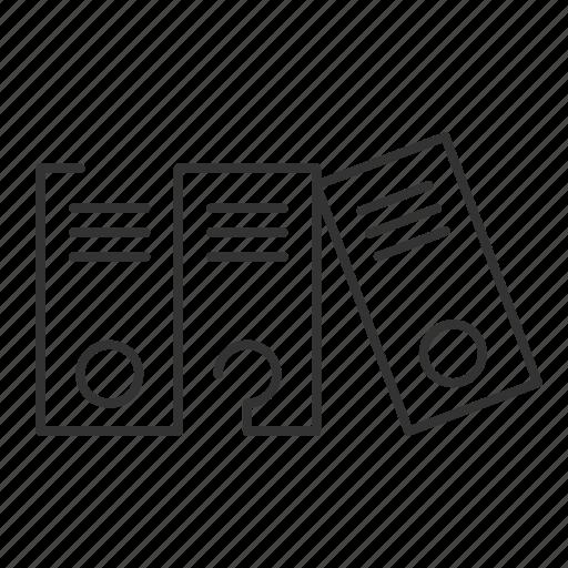 arrange, books, document, files, folder, folders icon
