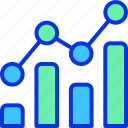 analytics, business, chart, finance, marketing icon