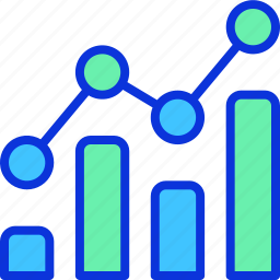 analytics, business, chart, finance, marketing icon