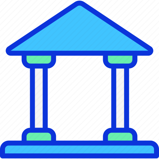bank, building, business, finance icon