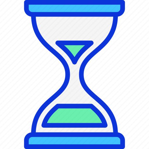 busy, clock, duration, hourglass, time icon