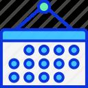 calendar, calender, date, month, schedule icon