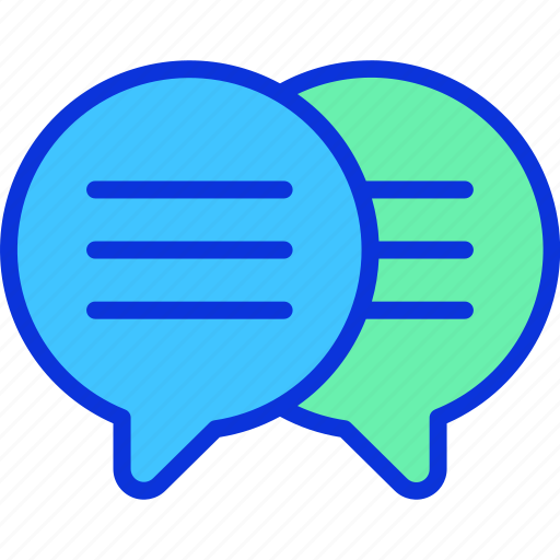 business, chat, message, messenger, online icon