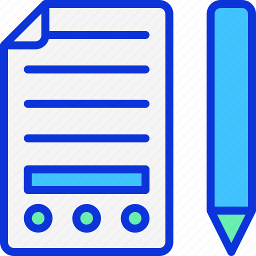 business, contract, invoce, notebook, notes icon