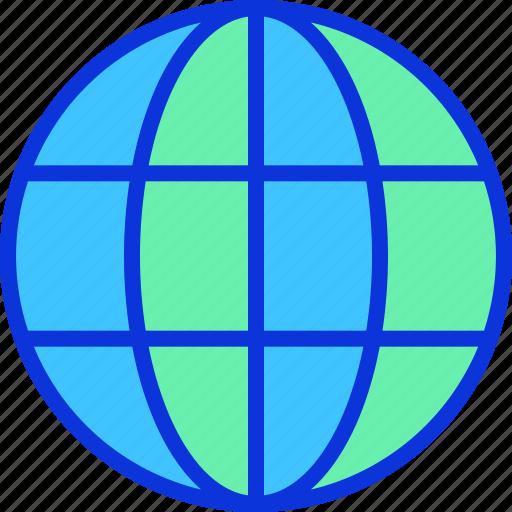 browser, globe, http, internet, www icon