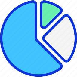 business, chart, graph, pie, pie chart icon