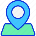 gps, location, navigation, placeholder icon