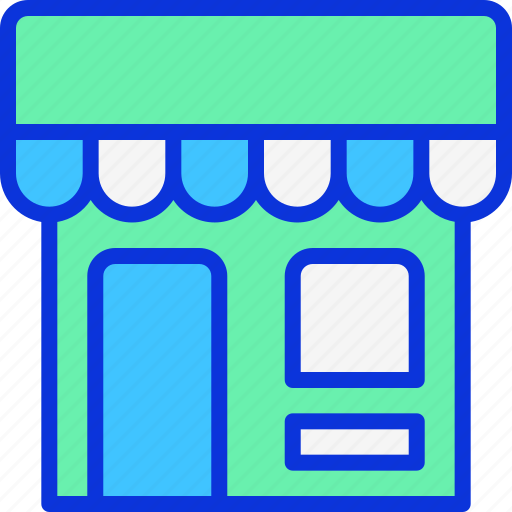 building, market, retail, shop icon