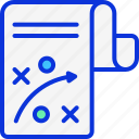 business, business plan, presentation, strategy icon