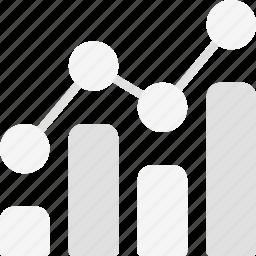 analytics, bar, chart, diagram, finance, finance business, graph icon