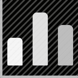 bar, chart, finance, finance business, graph, report, statistics icon
