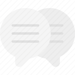 chat, discussion, finance business, mail, speech, talk, text icon