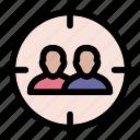 audience, customer, target, team