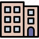 building, office, real estate, skyspaer icon