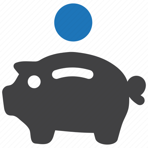 bank, banking, finance, money, piggy, piggybank, savings icon