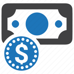banknote, cash-and-coin, coin, dollar, money, savings, wealth icon