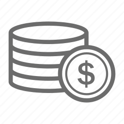 banking, business, coin, commerce, finance, money icon