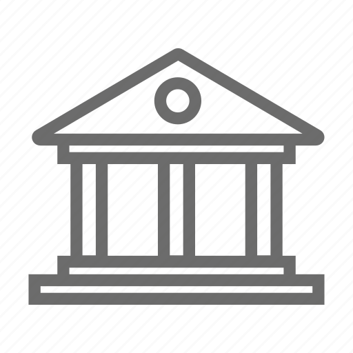 bank, banking, business, commerce, finance, money icon