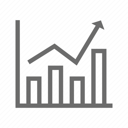 banking, business, commerce, finance, graph, money icon