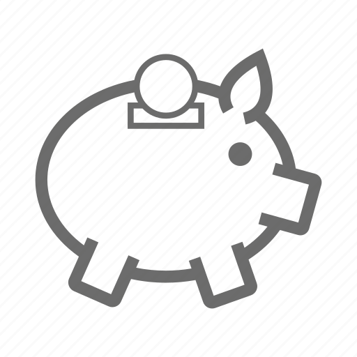 banking, business, finance, guardar, money, piggy, save icon