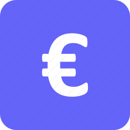 banking, currency, euro, exchange, finance, money, payment icon